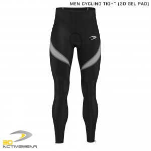 Activewear 3D Gel Padded Legging Cycling Trouser Mens Cycling Tights