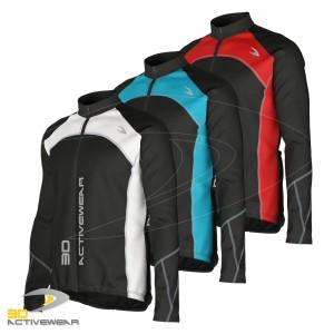 Cycling Long Sleeve Shirt MTB Full Zip