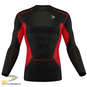 Mens Power Pro Compression Top Baselayers Body Armour Skin Fit Under Shirt