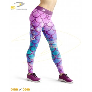 Fish Skin Sublimation Legging
