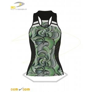 Green Gym Tank Top