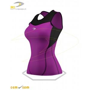 Hot Purple Sleeveless Top
