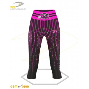 Star Gym Capri Leggings
