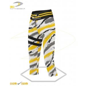 Tiger yoga Capri Leggings