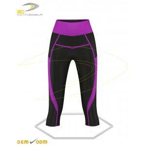 Turn Gym Capri Leggings