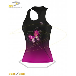 Butterfly Gym Tank Top