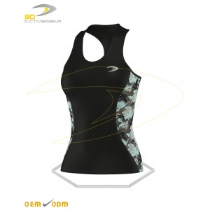 Camouflage pattern Gym Tank Top