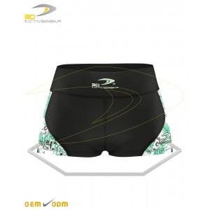 Training short length shorts